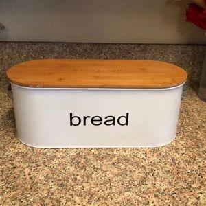 Other - Bread Box White Holt & Oden Farmhouse Decor